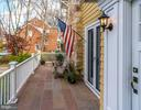 Welcoming oversized front porch - 5709 NEVADA AVE NW, WASHINGTON