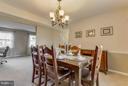 Dining Room - 13343 PELICAN RD, WOODBRIDGE