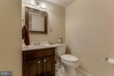 Basement half bath - 13343 PELICAN RD, WOODBRIDGE