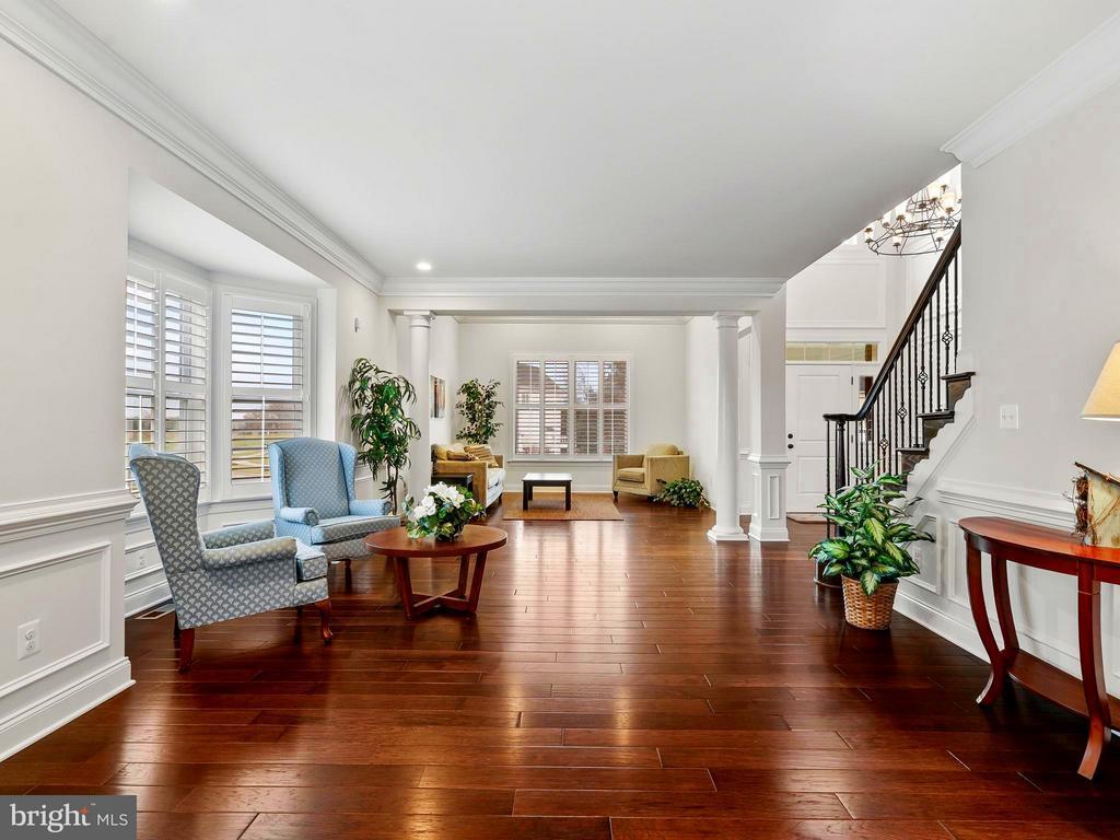 Formal Living Room w/ pillars - 41433 AUTUMN SUN DR, ALDIE