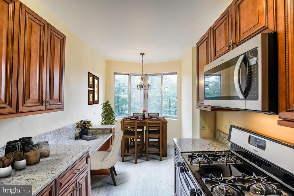 Gourmet Eat-in Kitchen w/Breakfast Area - 2801 NEW MEXICO AVE NW #919, WASHINGTON