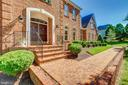 Beautiful 3 Side Brick Exterior and Walkway - 41605 SWIFTWATER DR, LEESBURG