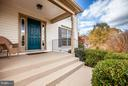 Front porch - 11708 S OXBOW CT, FREDERICKSBURG