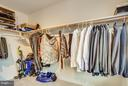 Lots of closet space ! - 11708 S OXBOW CT, FREDERICKSBURG