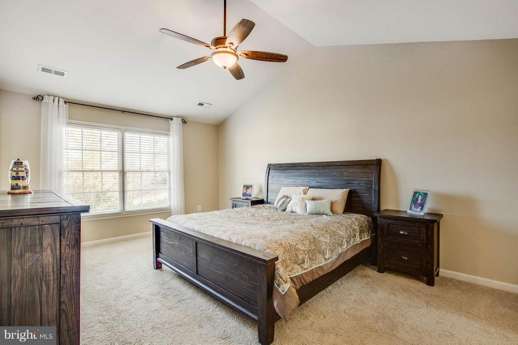 Spacious master bedroom - 11708 S OXBOW CT, FREDERICKSBURG