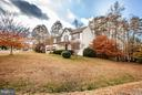 Side and front view - 11708 S OXBOW CT, FREDERICKSBURG