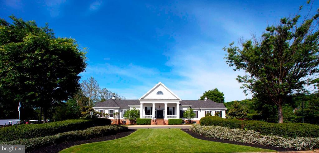 Raspberry Falls Golf Course Club House - 16628 ELK RUN CT, LEESBURG