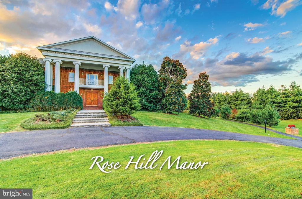 Rose Hill Manor Community (Wedding & Event Venue) - 16628 ELK RUN CT, LEESBURG