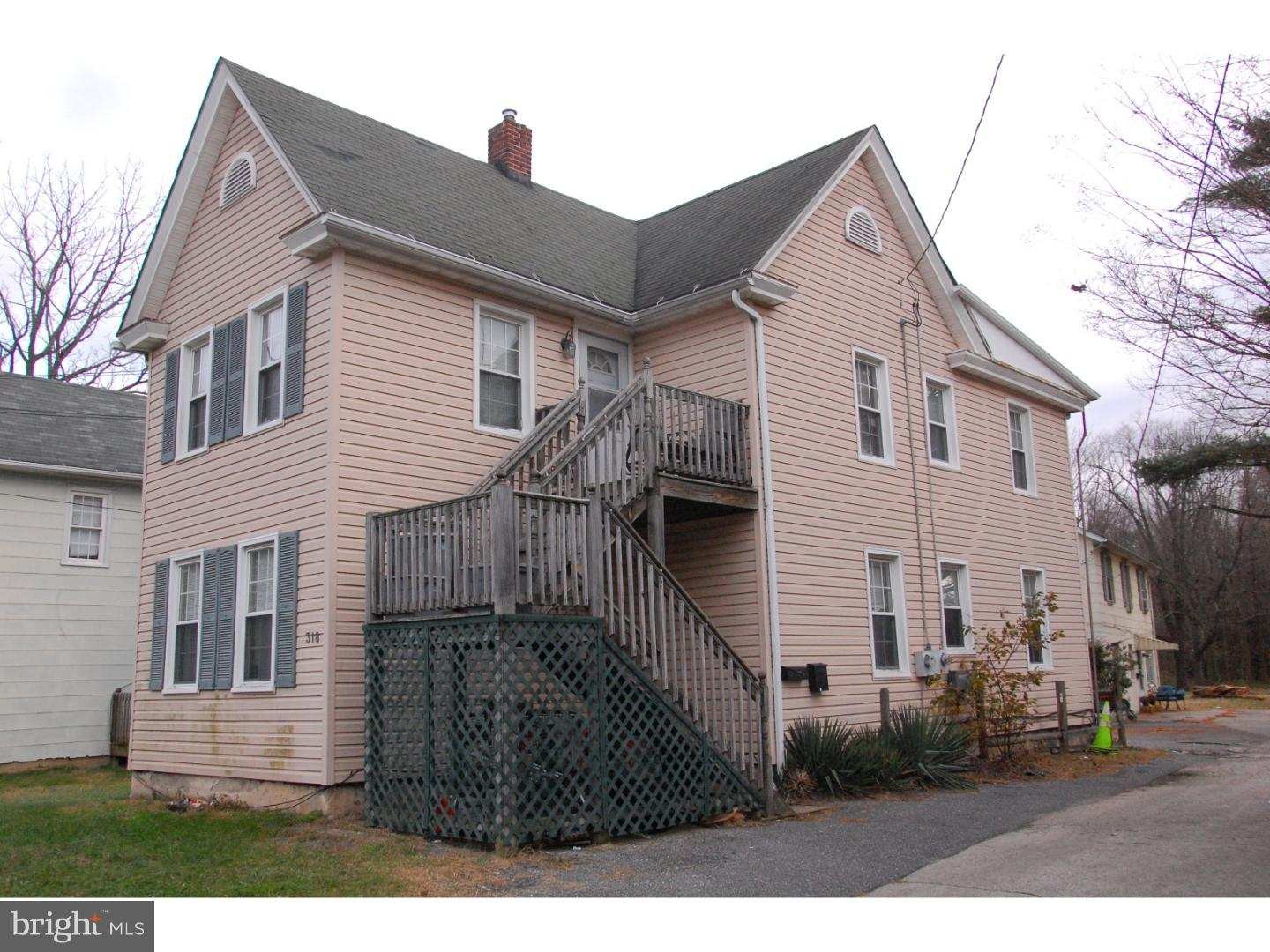 Quadraplex for Sale at 318-320 N BROADWAY Pennsville, New Jersey 08070 United States