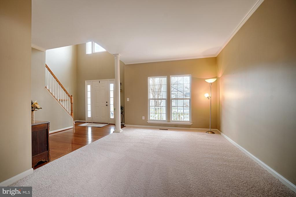 Large Living Room - new carpet and neutral paint - 43189 CARDSTON PL, LEESBURG