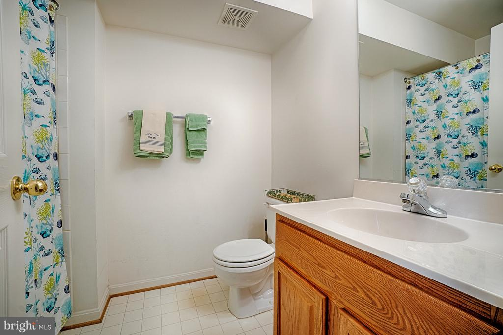 Lower Level Full Bath - 43189 CARDSTON PL, LEESBURG