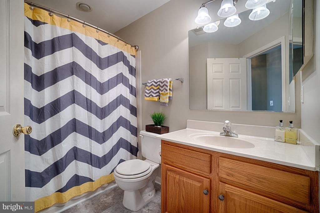Hall Bathroom - 43189 CARDSTON PL, LEESBURG