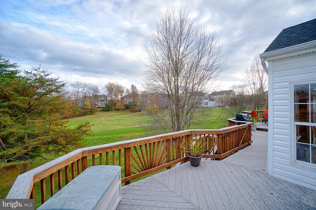 Overlooking trees and common area space - PRIVACY! - 43189 CARDSTON PL, LEESBURG