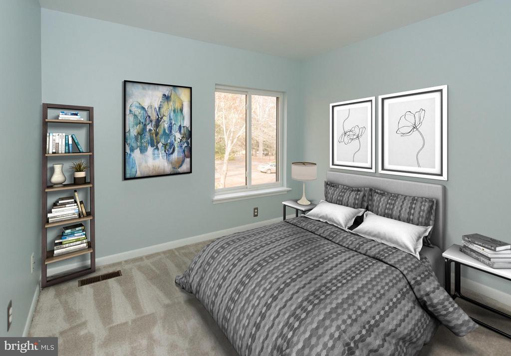 Lots of natural light for a great 2nd bedroom - 2358 SOFT WIND CT, RESTON