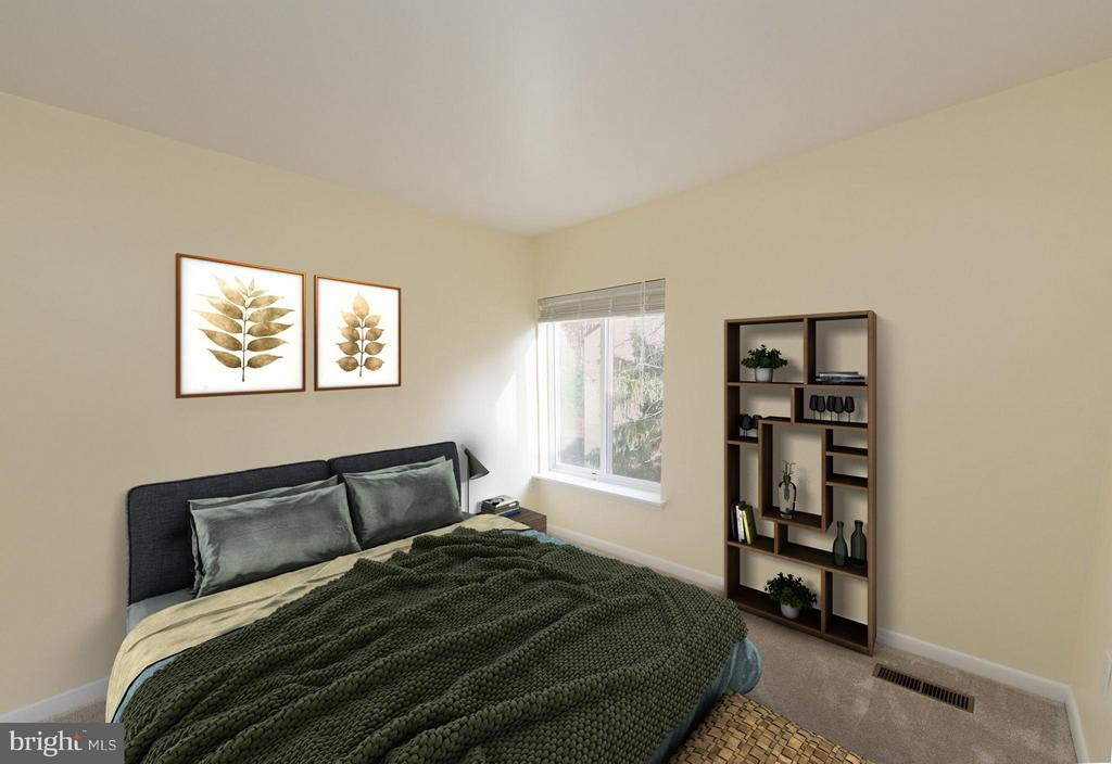 Large 3rd bedroom with more natural light - 2358 SOFT WIND CT, RESTON
