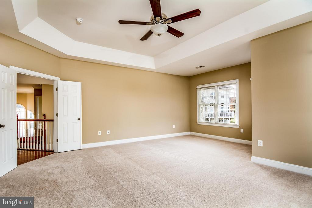MBR HAS TRAY CEILING AND SITTING AREA - 12282 TIDESWELL MILL CT, WOODBRIDGE