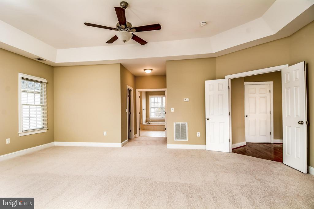 MBR W/2 HUGE WALK-IN CLOSETS & AWESOME LUXURY BATH - 12282 TIDESWELL MILL CT, WOODBRIDGE