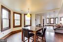 Dining room (unit 2) - 160 12TH ST SE, WASHINGTON
