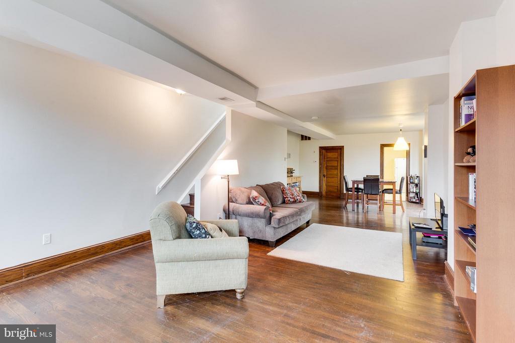 Family room (unit #2) - 160 12TH ST SE, WASHINGTON