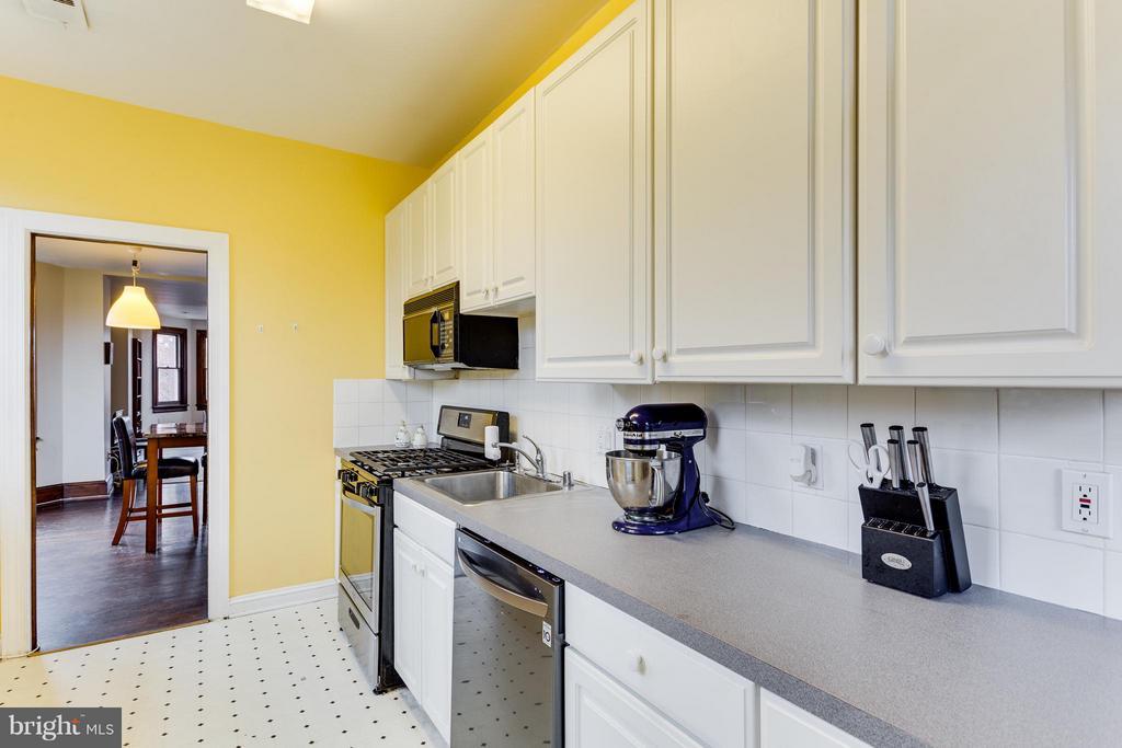 Kitchen (Units 1&2  room sizes are similar) - 160 12TH ST SE, WASHINGTON