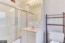 Master bath - 160 12TH ST SE, WASHINGTON