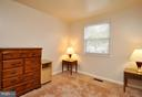 Upstairs Bedroom #2 - Plenty of room /closet space - 2800 HOGAN CT, FALLS CHURCH