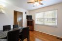 Breakfast Area / Sitting Room - 2800 HOGAN CT, FALLS CHURCH