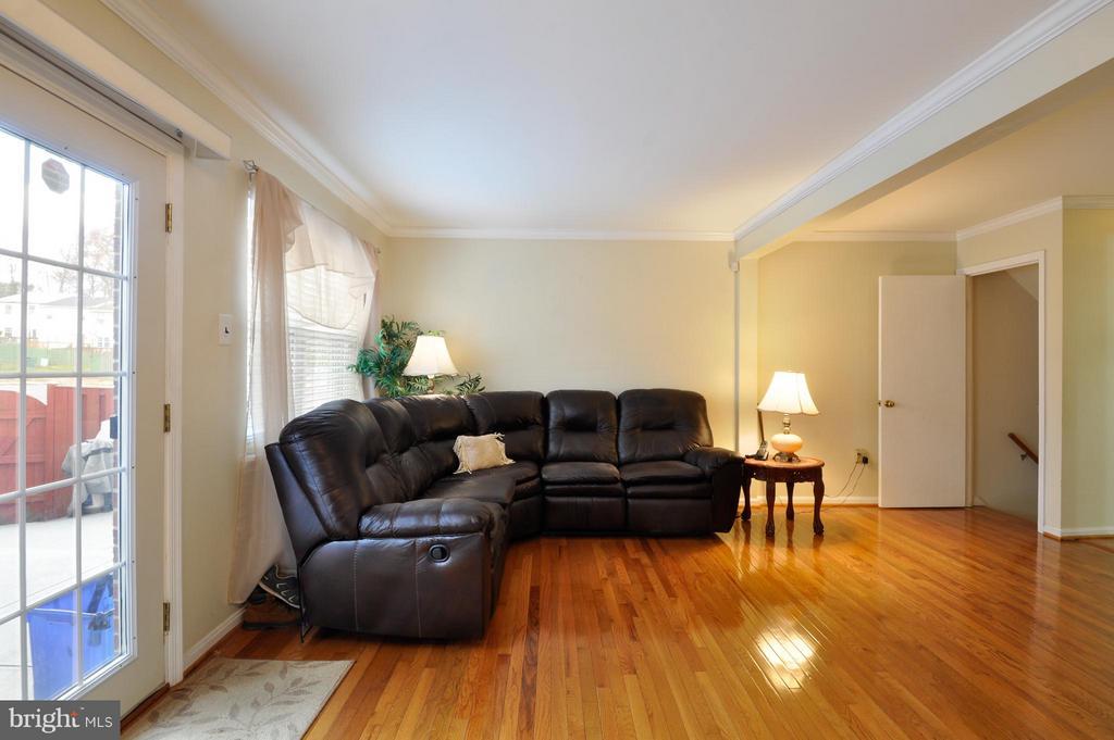 Dining Area adjacent to Living Room - 2800 HOGAN CT, FALLS CHURCH