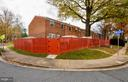 Street View - Back of Home - Spacious End Unit - 2800 HOGAN CT, FALLS CHURCH