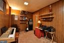 Basement - Bedroom or Office - 2800 HOGAN CT, FALLS CHURCH