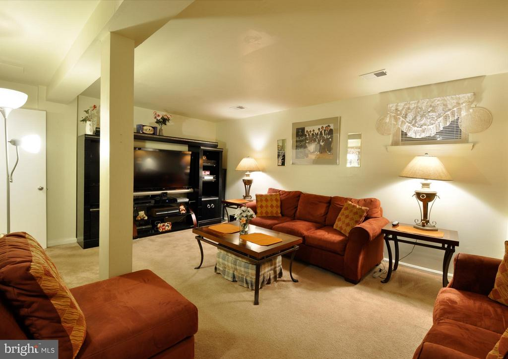 Basement - Plenty of Room to Entertain - 2800 HOGAN CT, FALLS CHURCH