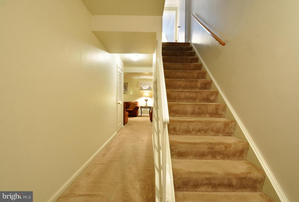 Downstairs Basement Entrance Hallway - 2800 HOGAN CT, FALLS CHURCH