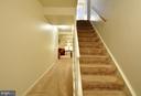 Downstairs Basement Entrance Hallway - 2800 HOGAN CT, FALLS CHURCH