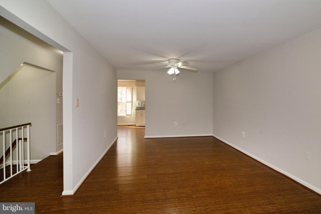 Hardwood Flooring throughout Main Level - 11924 GLEN ALDEN RD, FAIRFAX