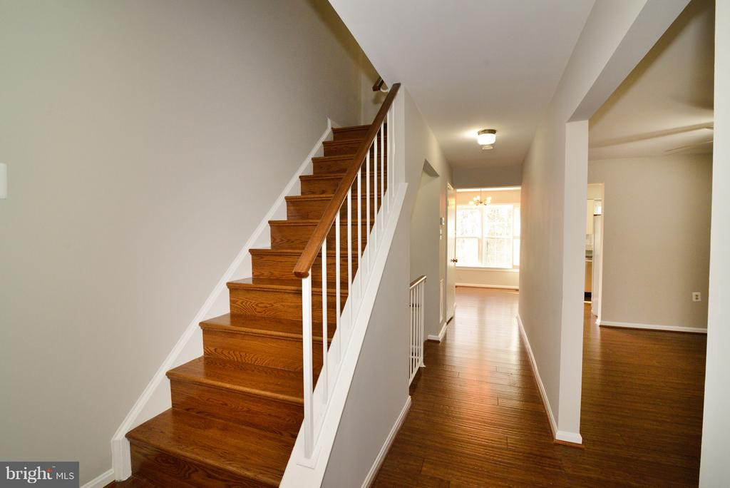 Hardwood on the Stairs too! - 11924 GLEN ALDEN RD, FAIRFAX