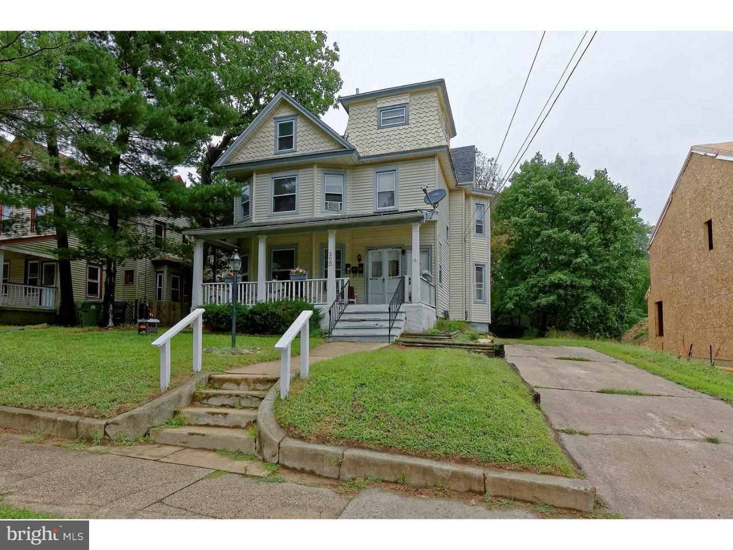 Triplex for Sale at 208 PITMAN Avenue Pitman, New Jersey 08071 United StatesMunicipality: Pitman