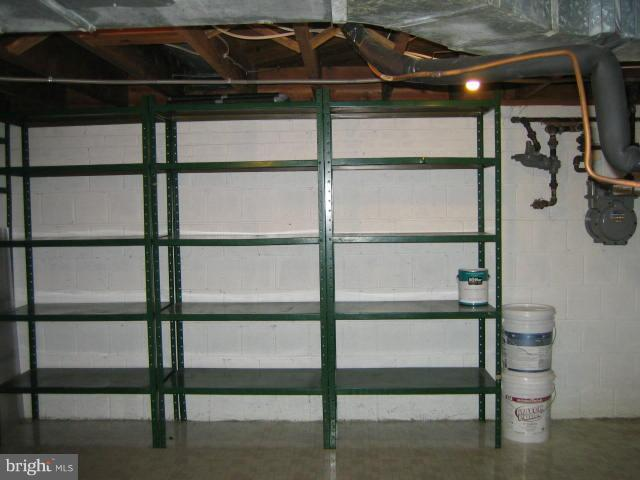 Unfinished are for storage - 6131 BEACHWAY, FALLS CHURCH