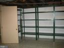 Unfinished area for storage - 6131 BEACHWAY, FALLS CHURCH