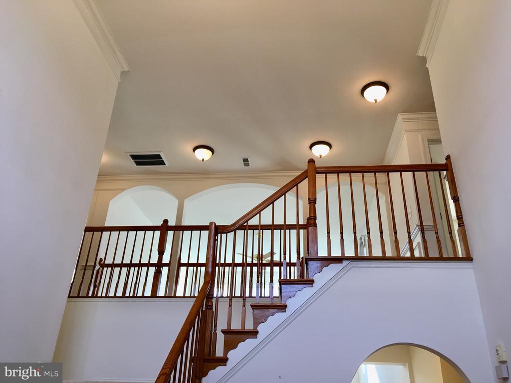 Gracious entry hall - elegant and modern - 13504 CLASSIC OAKS CT, MANASSAS