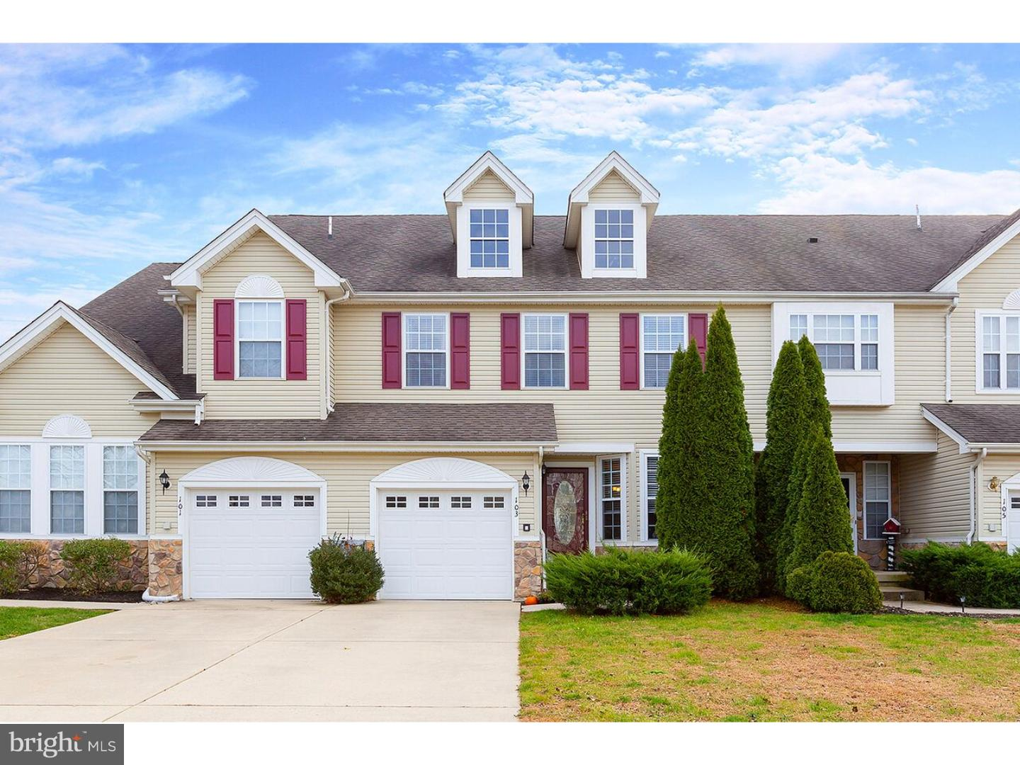 Photo of home for sale at 103 Westbrook Drive, Swedesboro NJ