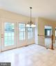 Eat-in kitchen space. - 8608 WOODLAND HEIGHTS CT, ALEXANDRIA