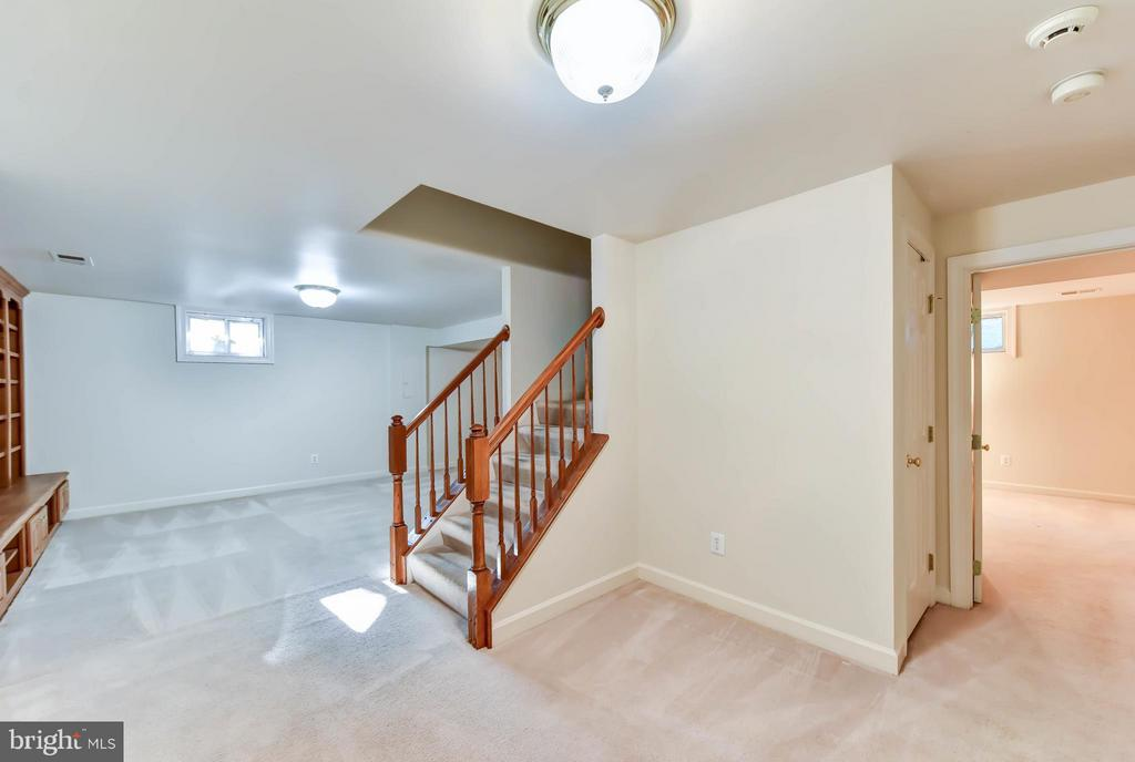 Lower  Level finished - 8608 WOODLAND HEIGHTS CT, ALEXANDRIA