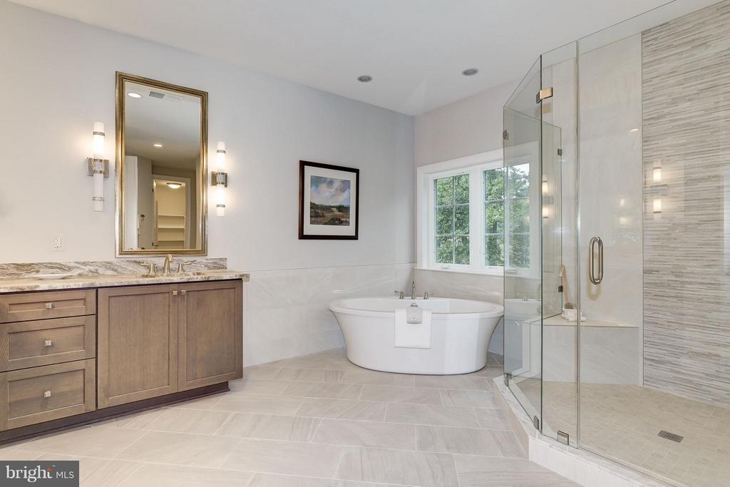 Bath (Master) - 2551 VALE RIDGE CT, OAKTON
