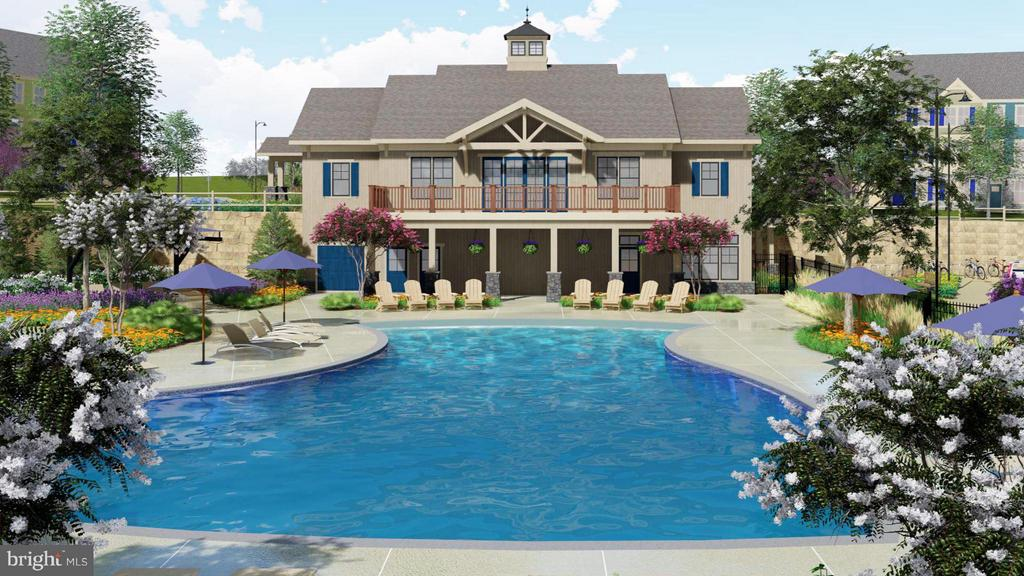 New pool and club house to be built in Oakdale! - 5824 PECKING STONE ST, NEW MARKET