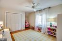 Bedroom 4 on upper level 2 - 814 CORNELL ST, FREDERICKSBURG