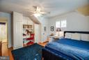 Bedroom 2 on Upper level 1 - 814 CORNELL ST, FREDERICKSBURG