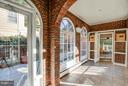 Fully enclosed Breezeway to family room and BR 6 - 814 CORNELL ST, FREDERICKSBURG