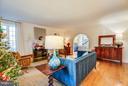 Living room - 814 CORNELL ST, FREDERICKSBURG