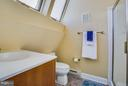 Full bath with bedroom #3 - 717 KENMORE AVE, FREDERICKSBURG