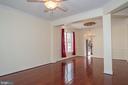 Living Room - 7705 RIDGEPARK CT, SPRINGFIELD